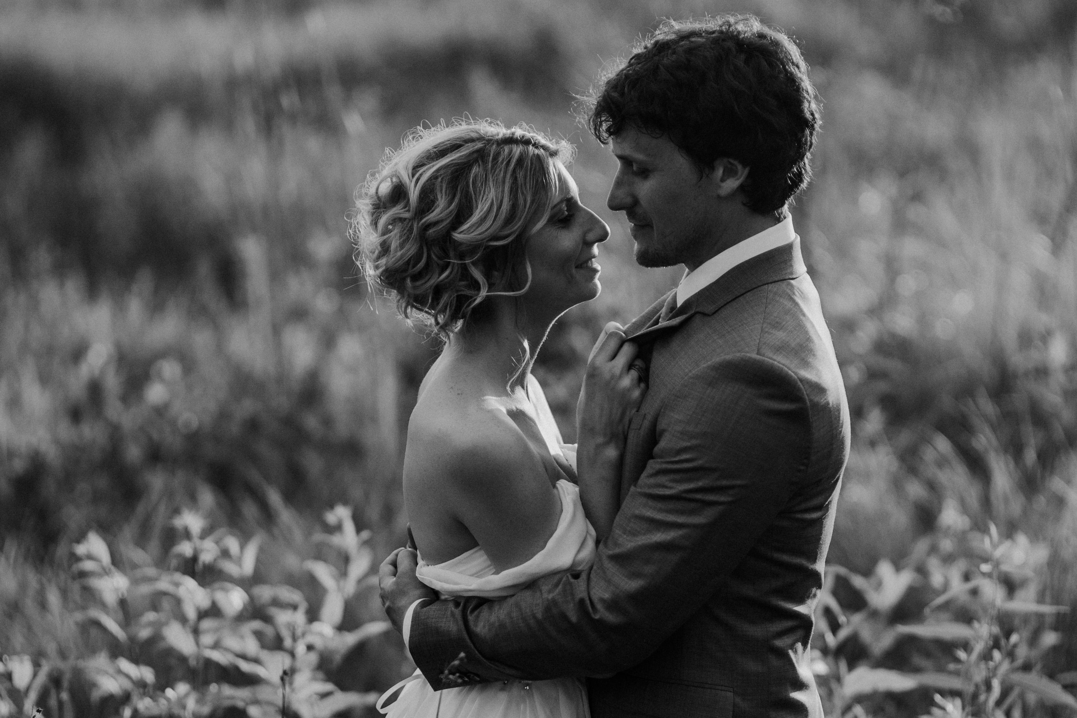 sunset cove intimate wedding photography michigan