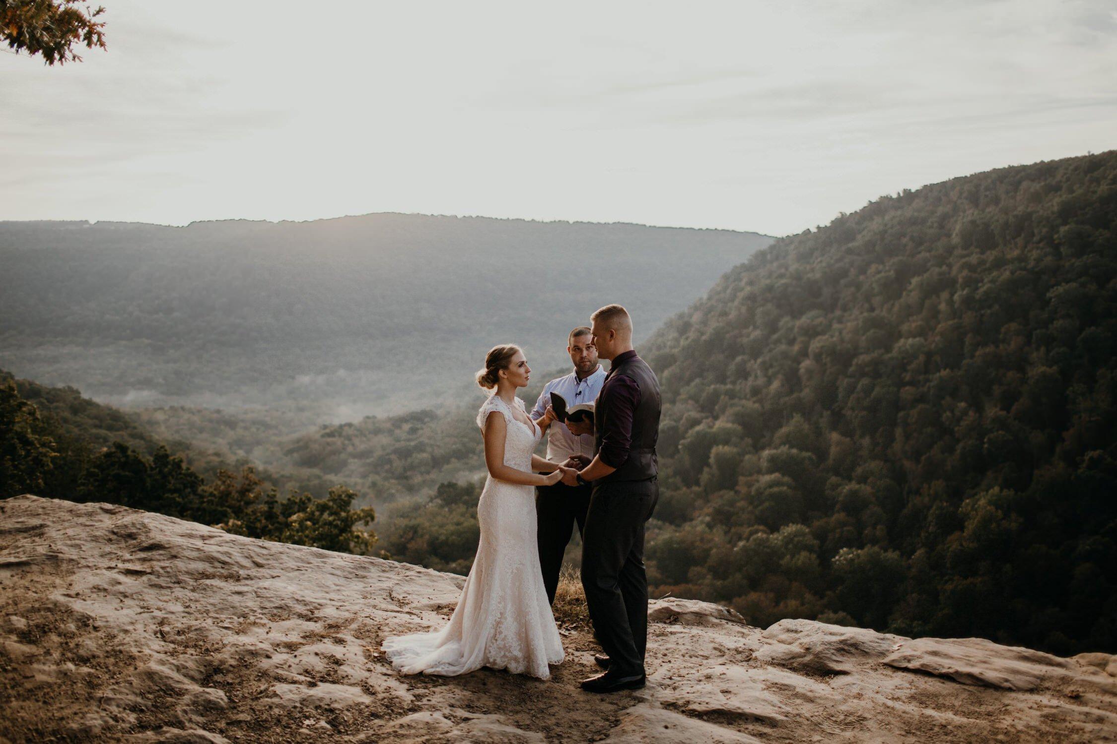 hawksbill crag elopement
