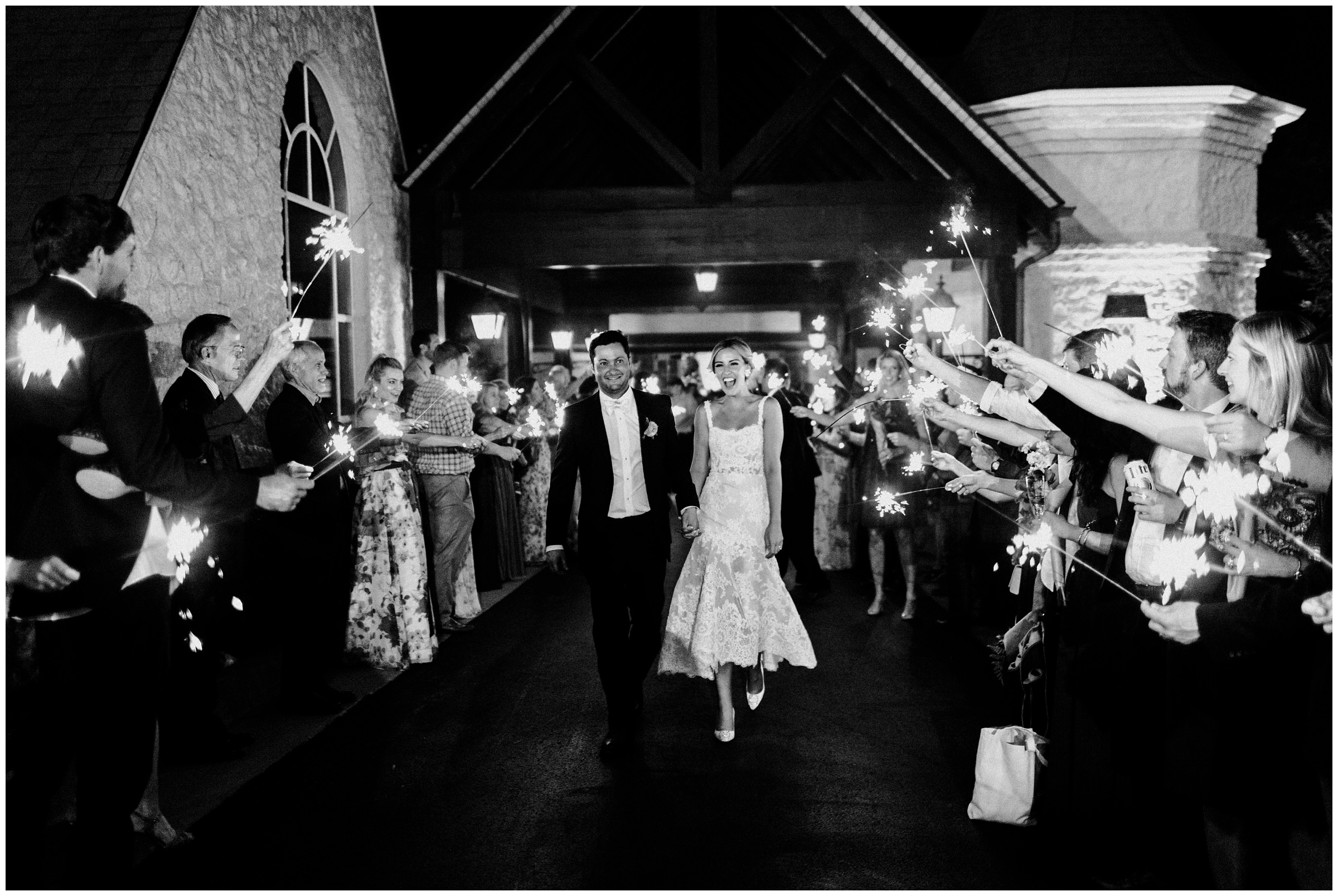 sparkler exit at southern hills country club