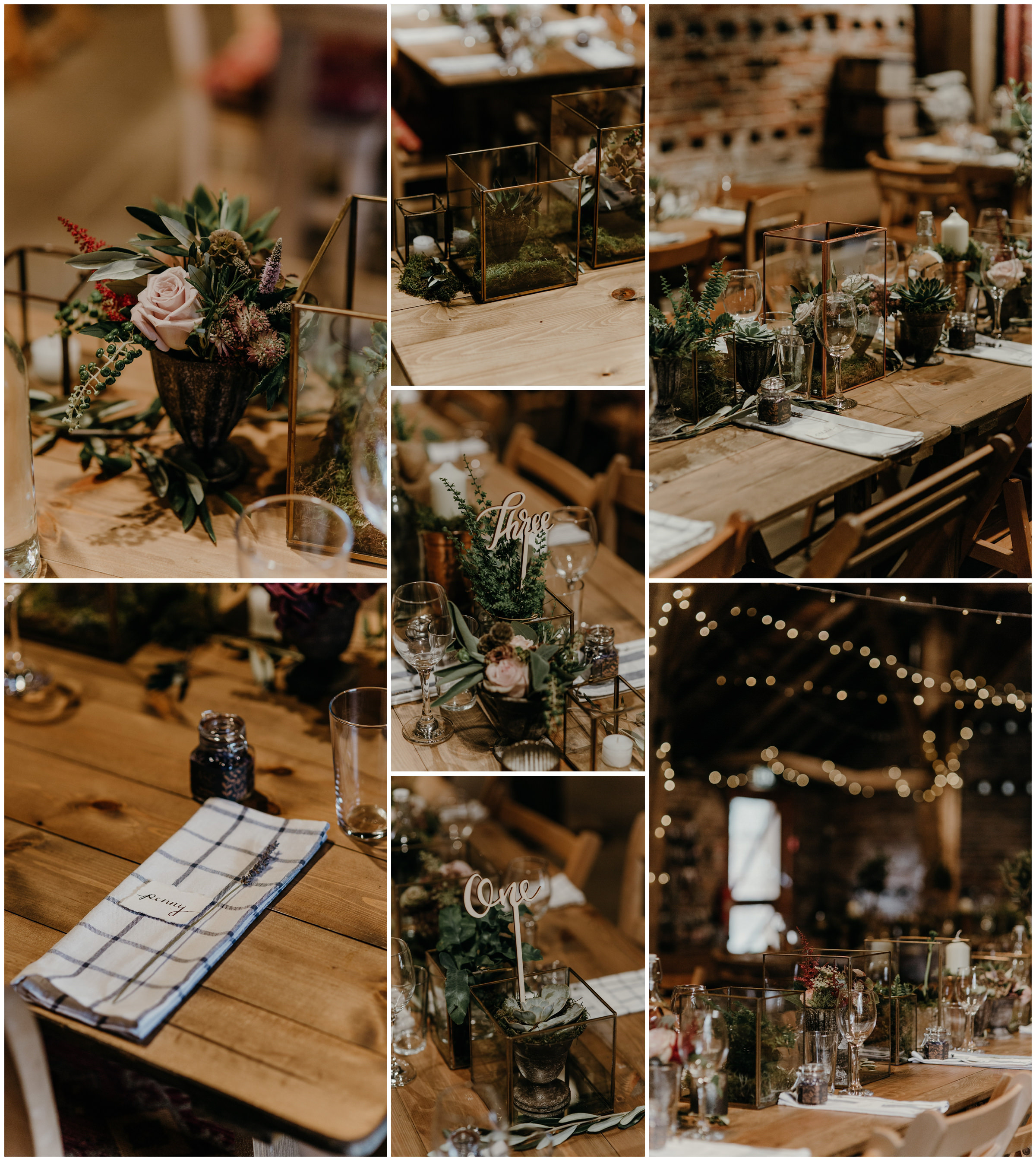poppleton tithe barn and stem florals details york england wedding photography
