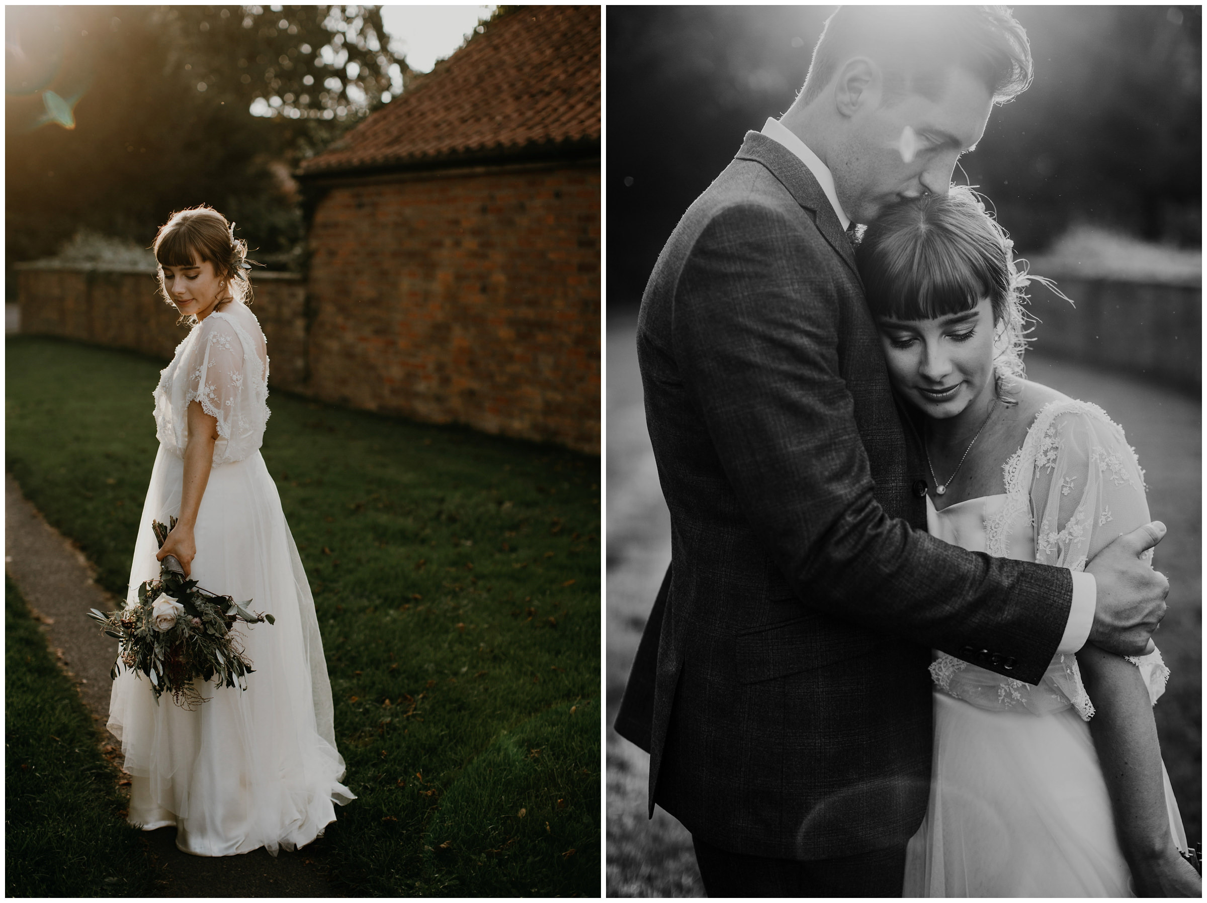 poppleton tithe barn wedding photographer