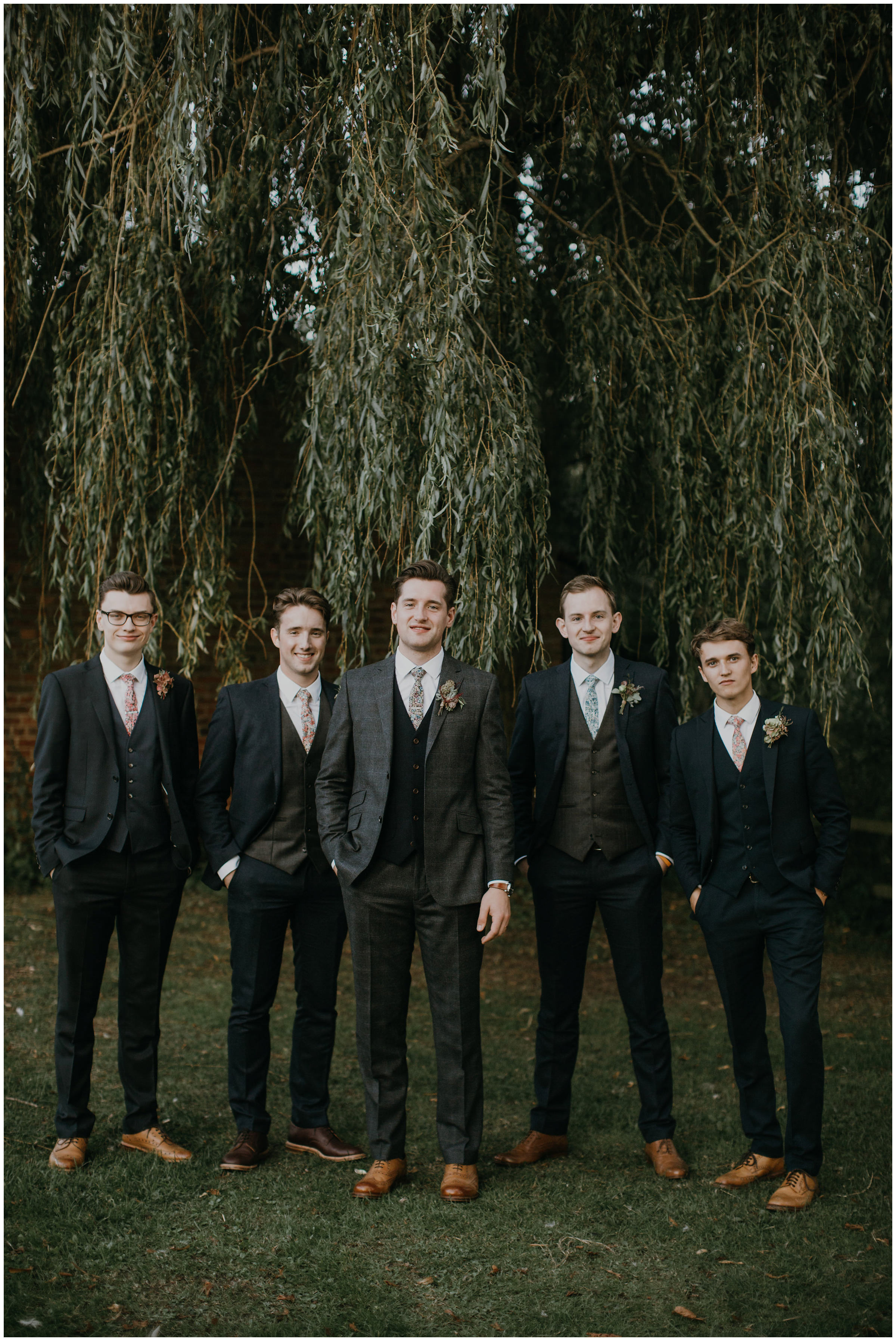 groomsmen fashion tweed suits