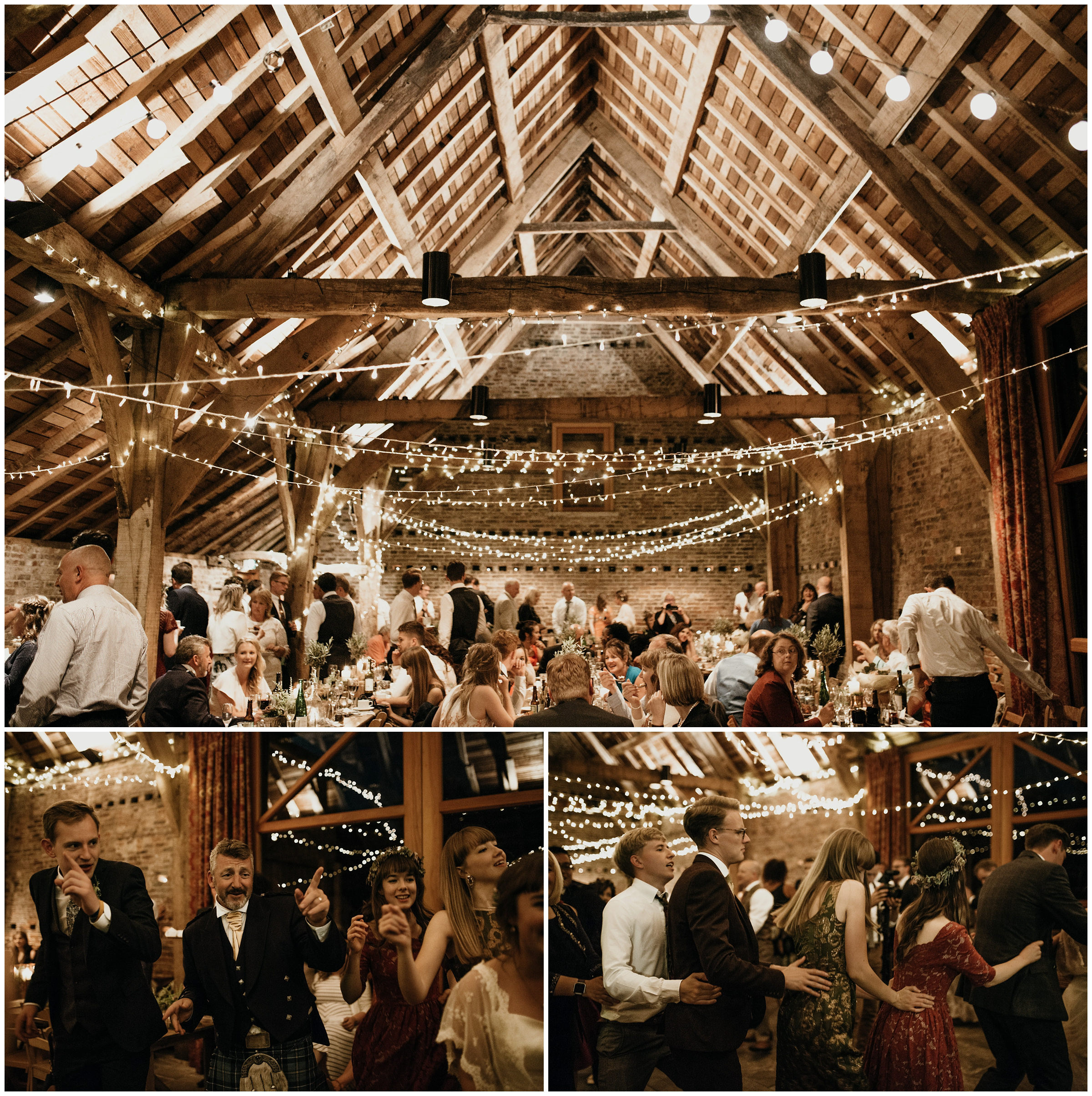 Nathan Ellie York England Poppleton Tithe Barn Romantic