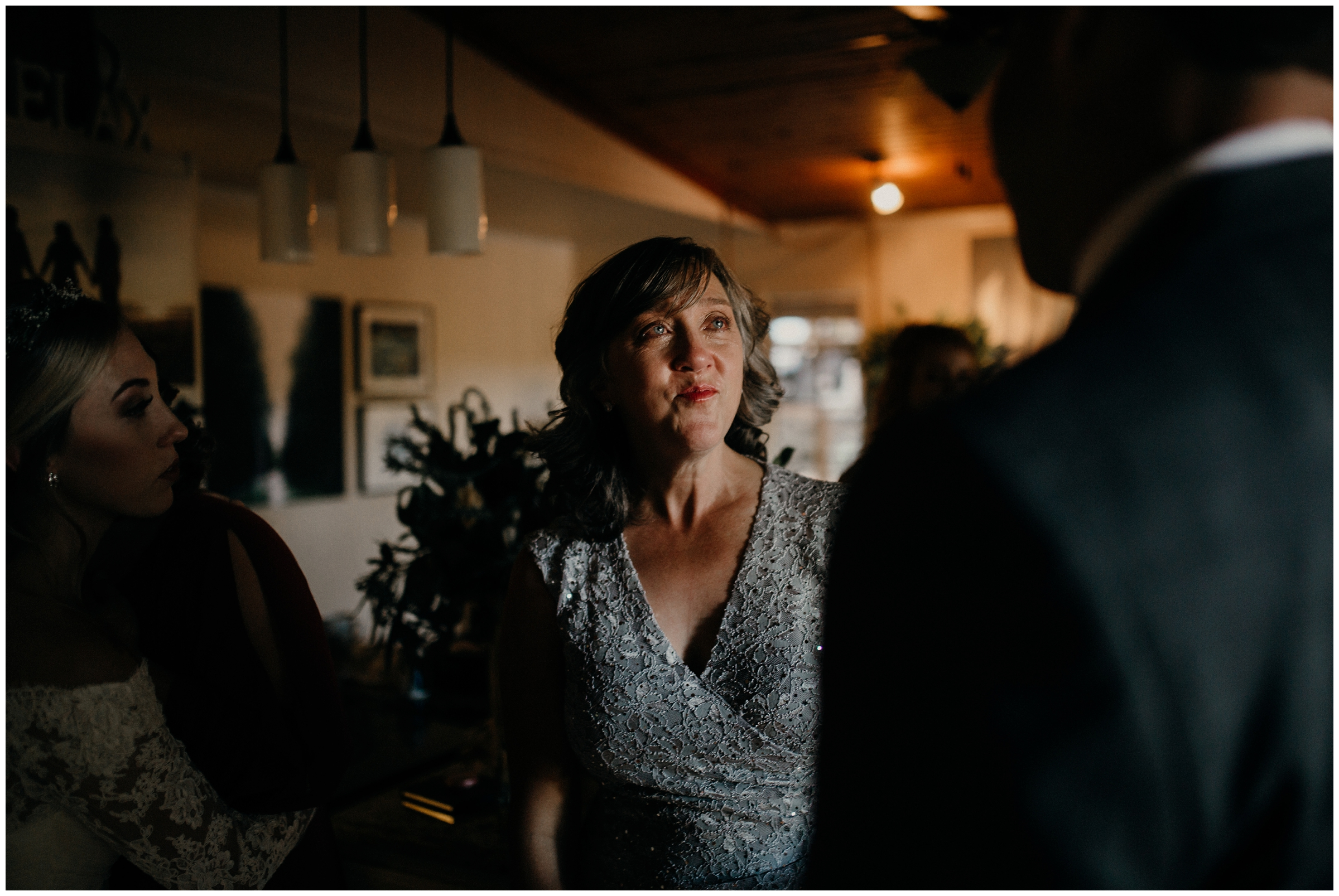 tearful mother of bride