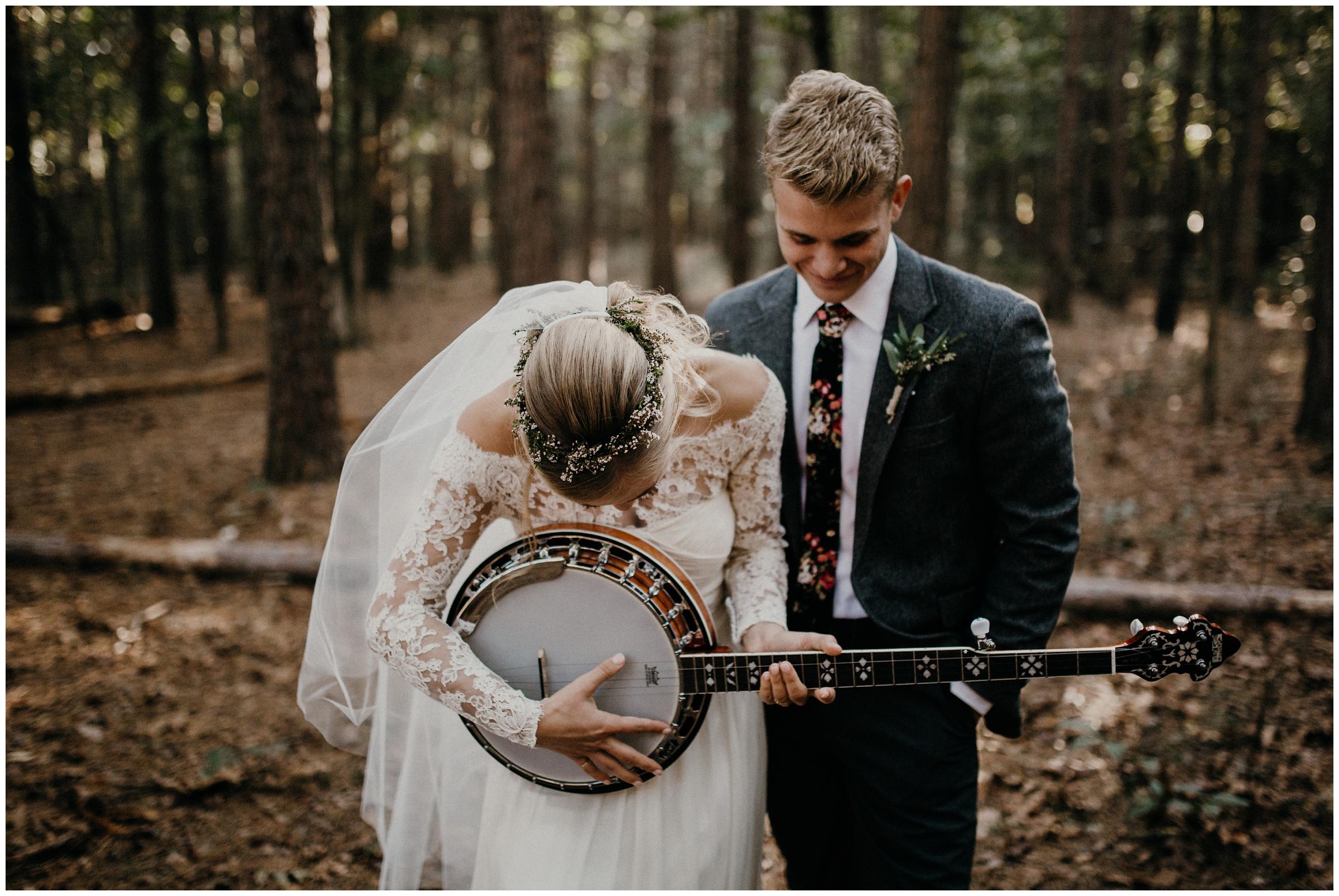 banjo wedding gift rogers arkansas