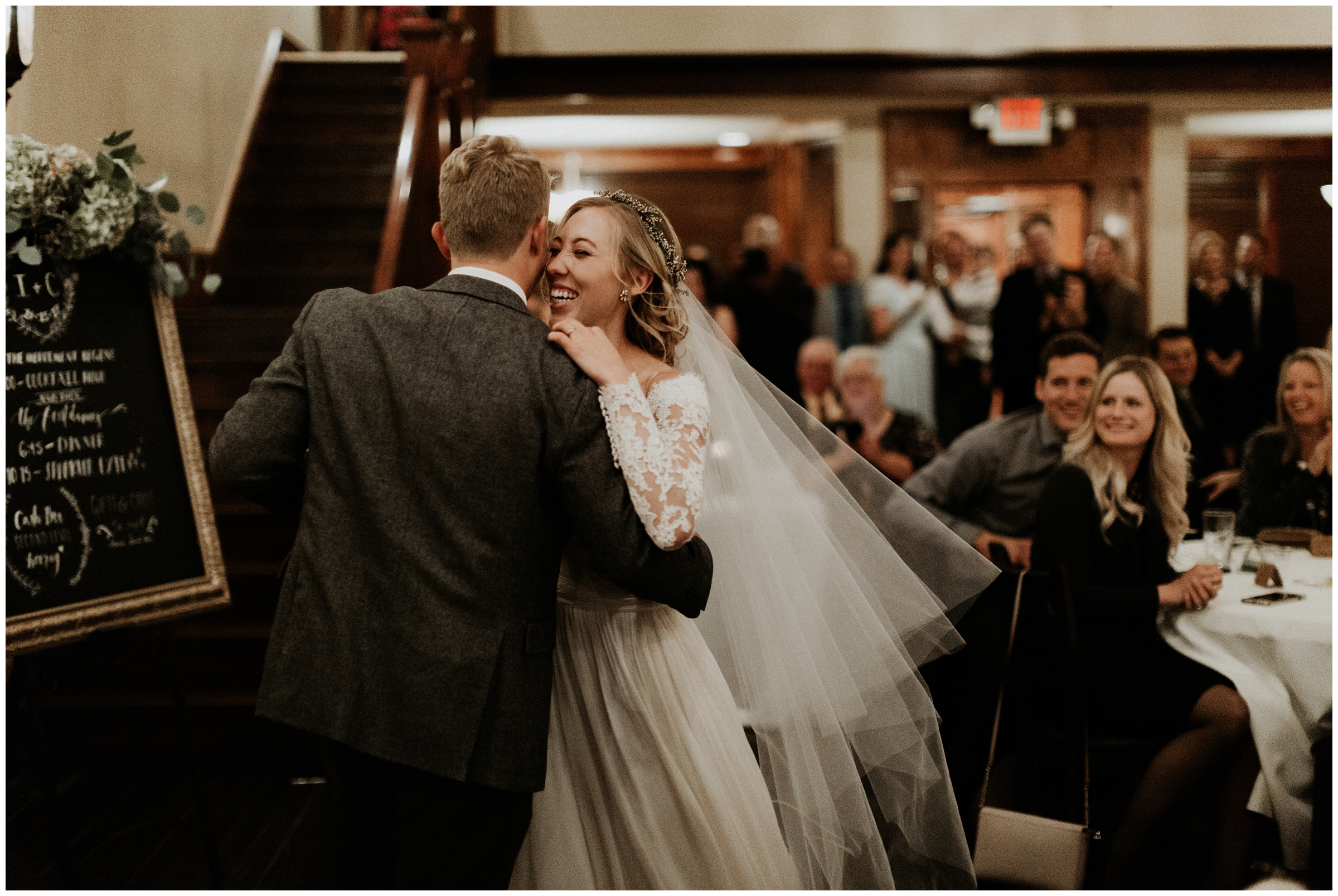 first dance at the grand at 117 rogers arkansas wedding photography