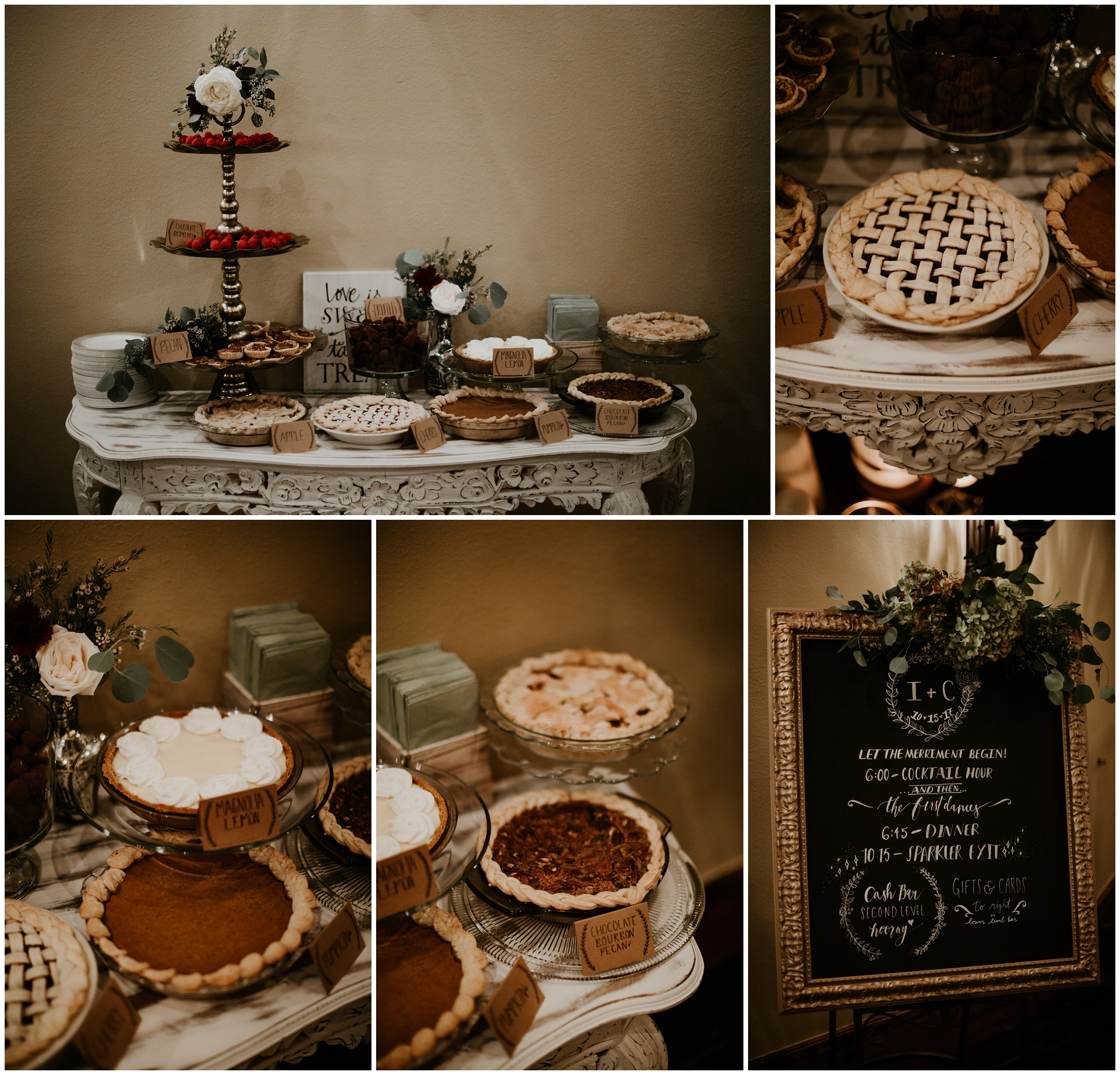 earth and honey pies, cakes, and macarons