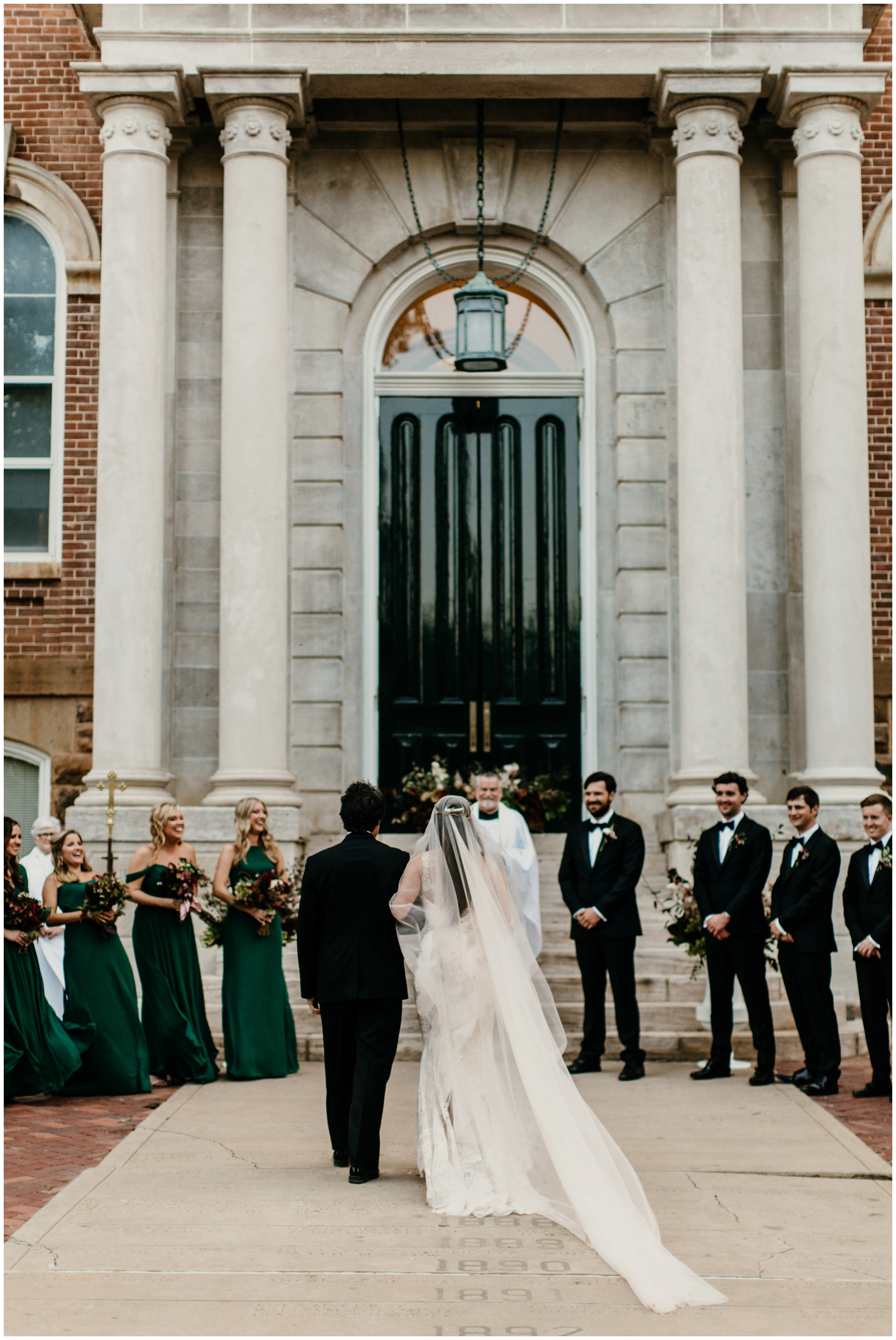 old main wedding ceremony