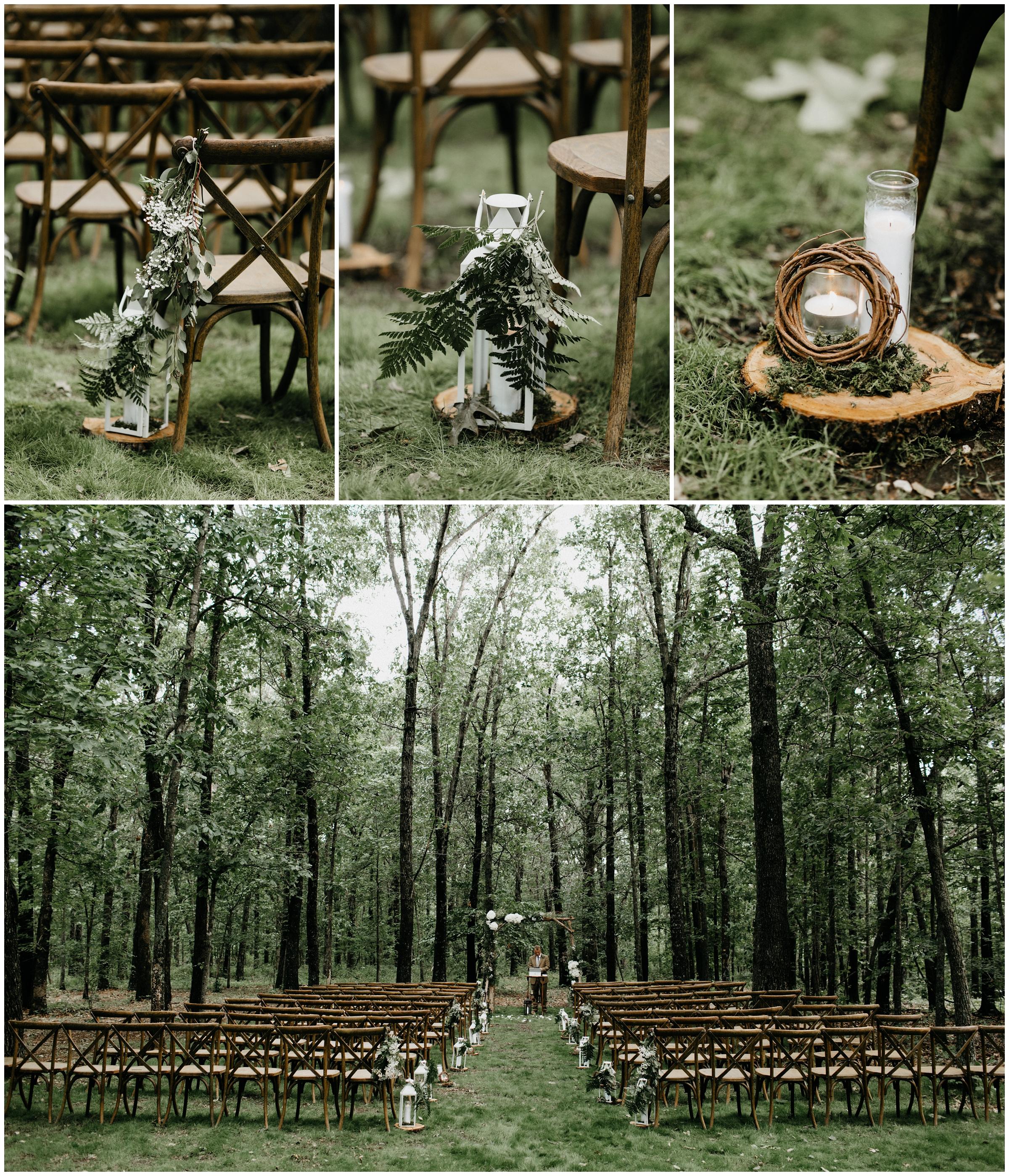 rustic elegant outdoor diy wedding springfield missouri photography