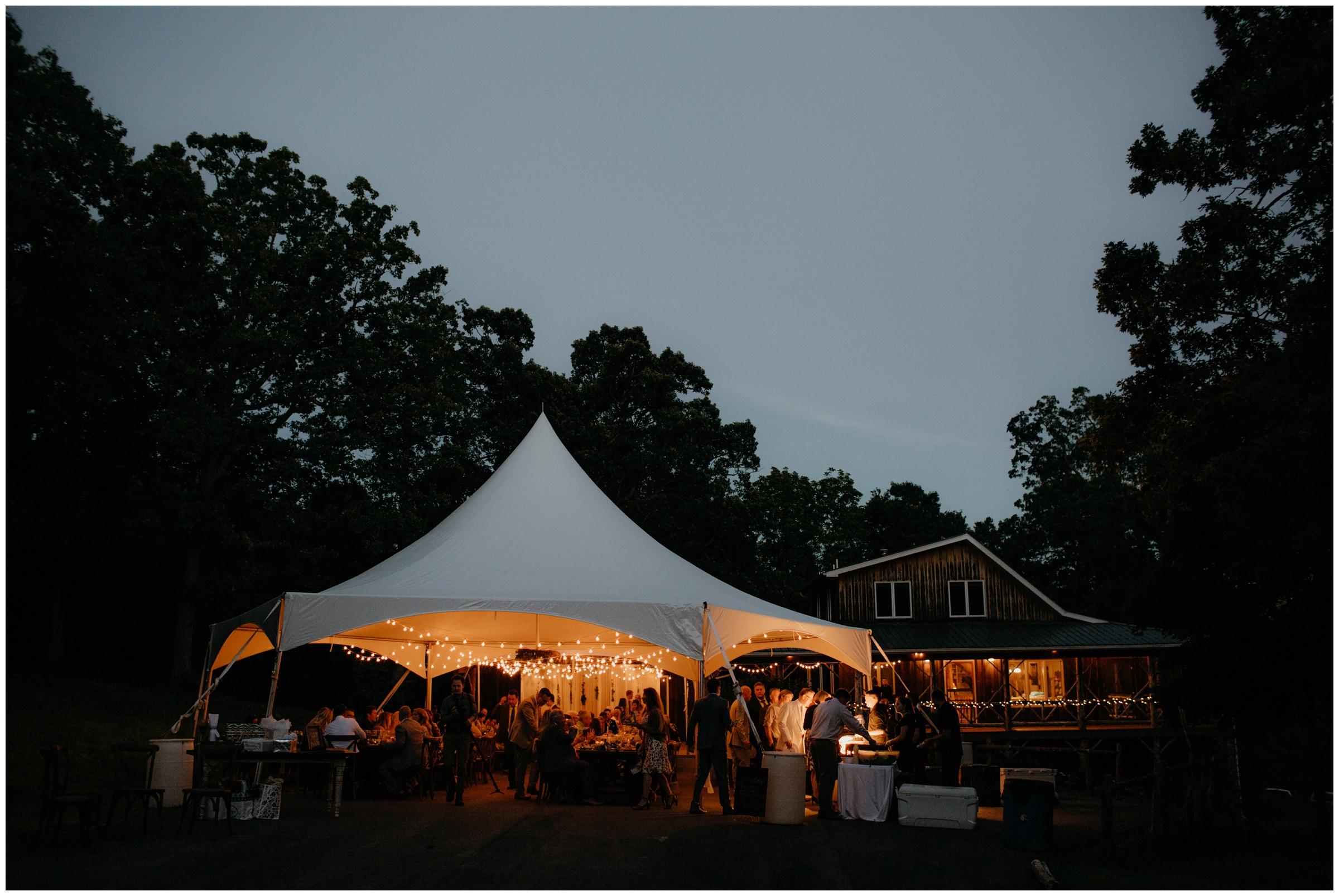 outdoor tent wedding fayetteville arkansas photographer
