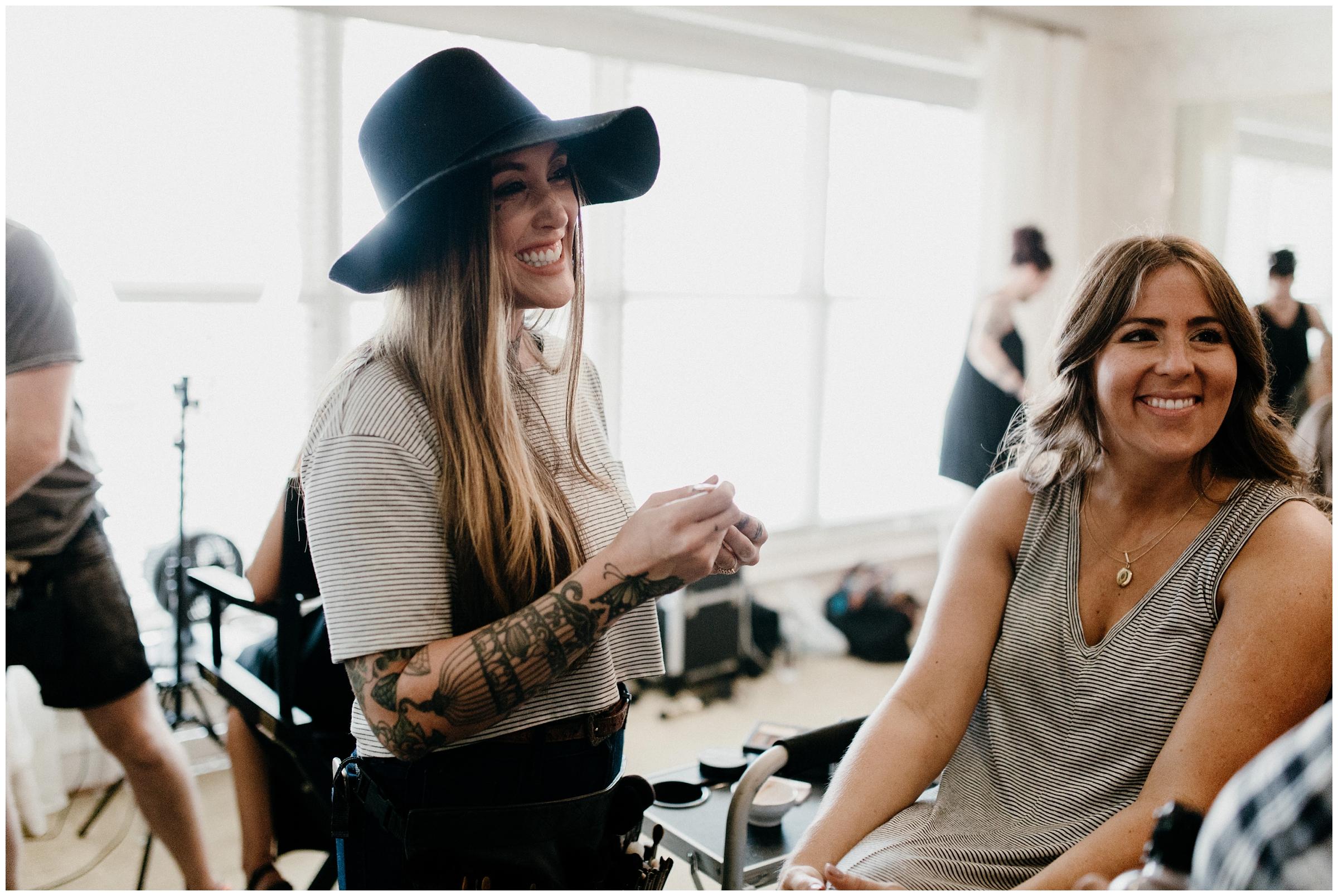 genoa falar makeup artist