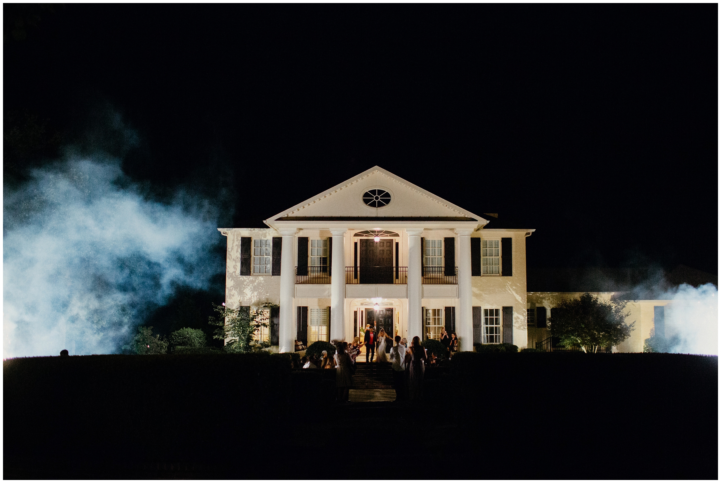 firework exit autumn ridge plantation fayetteville arkansas wedding