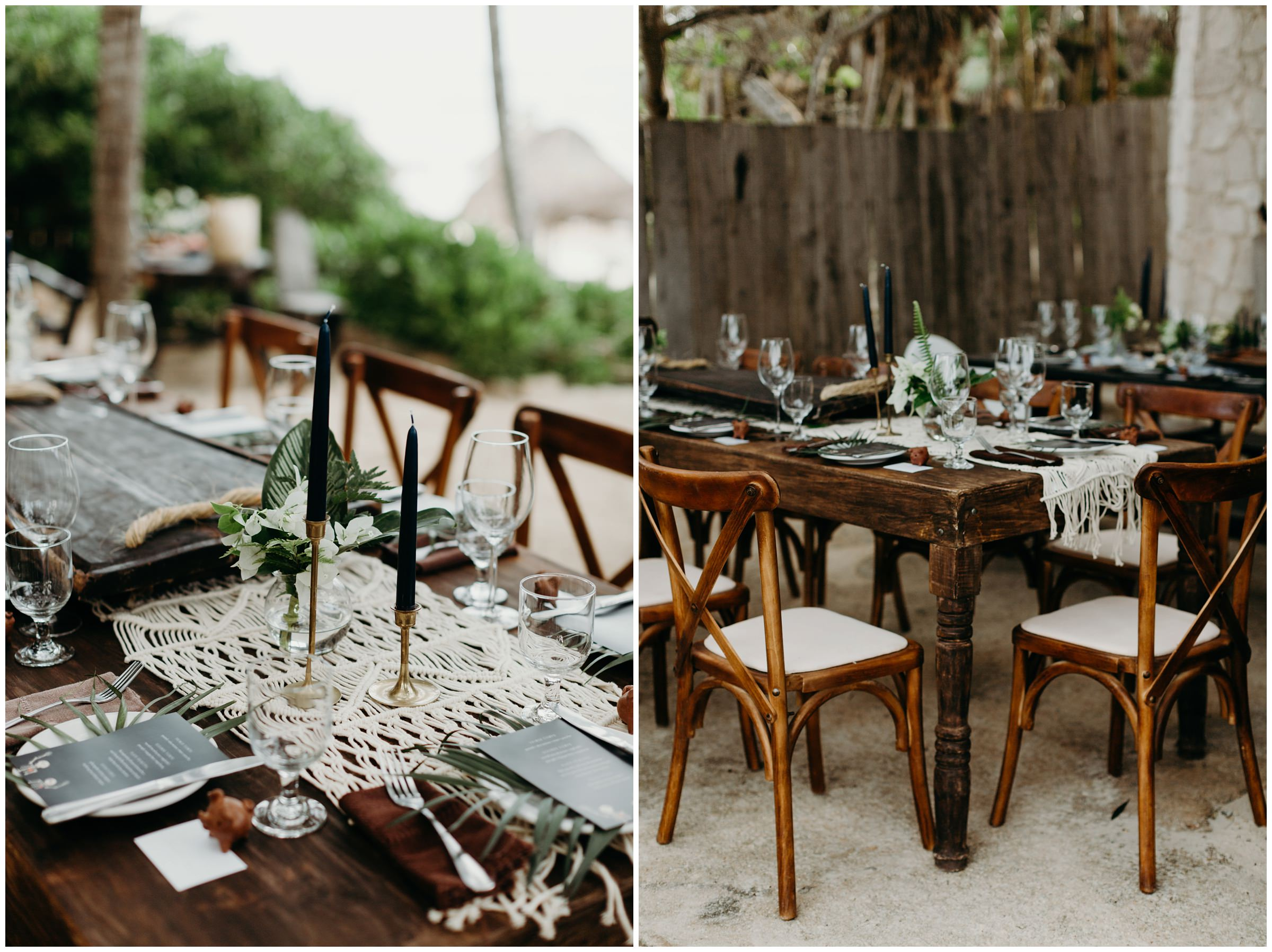 nest tulum bohemian wedding