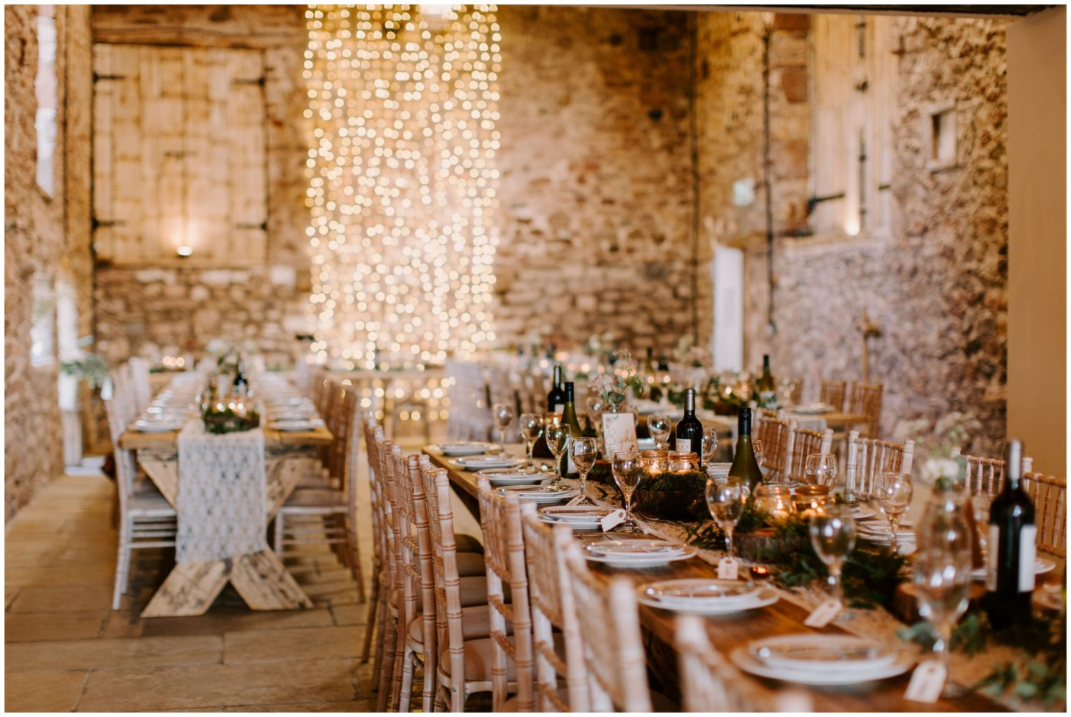rustic wedding at eden barn