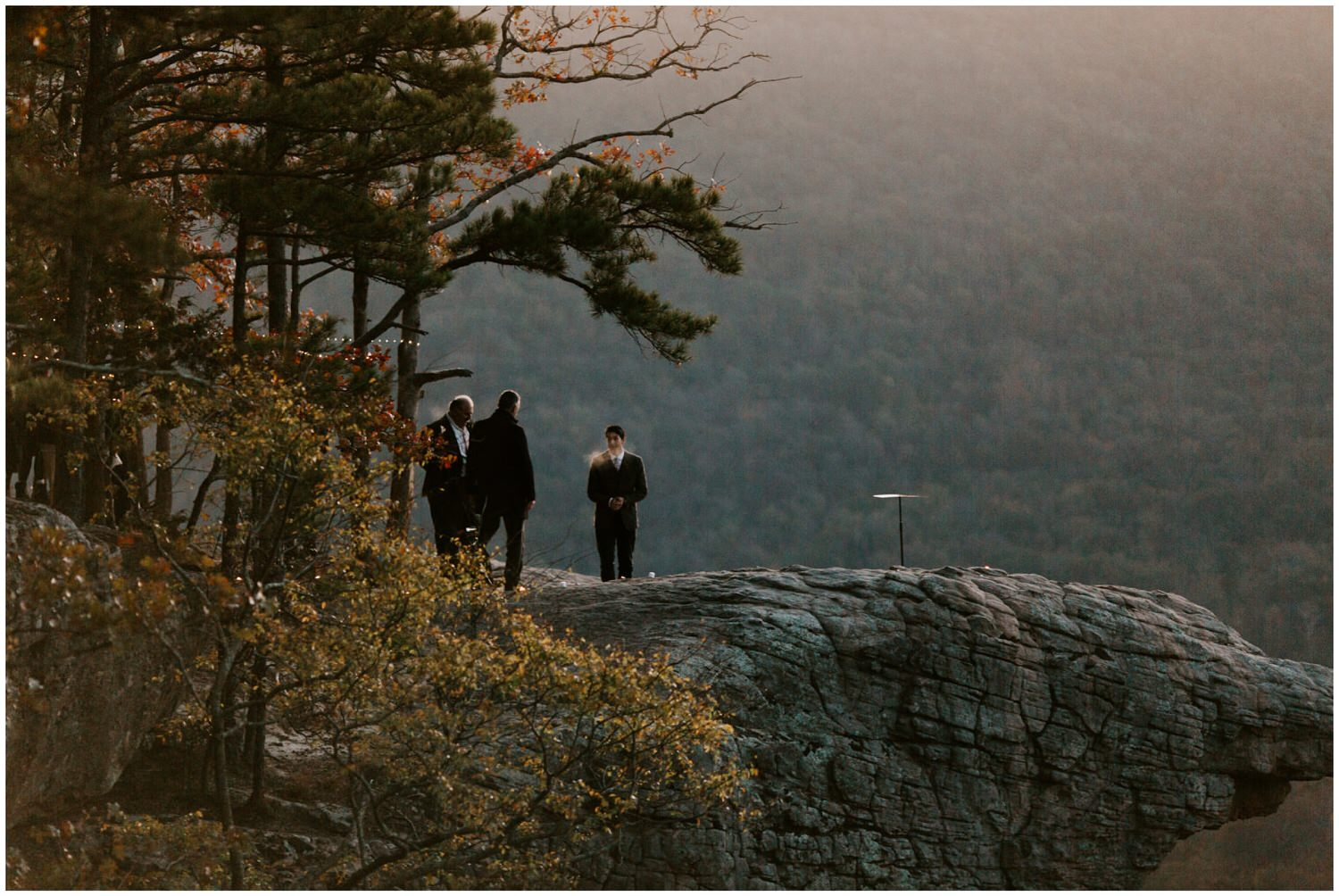 wedding at whitaker point