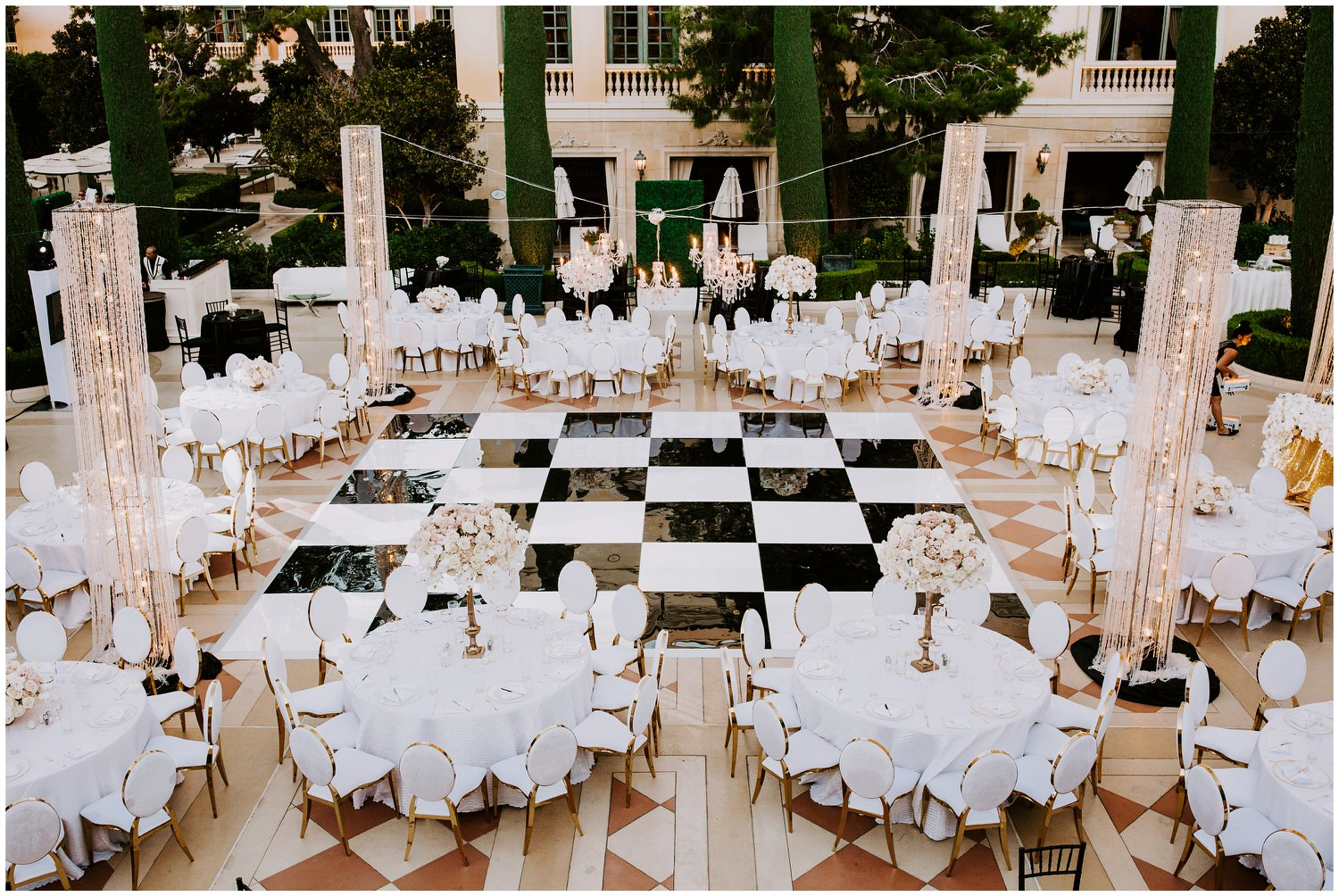 tory l cooper design bellagio wedding