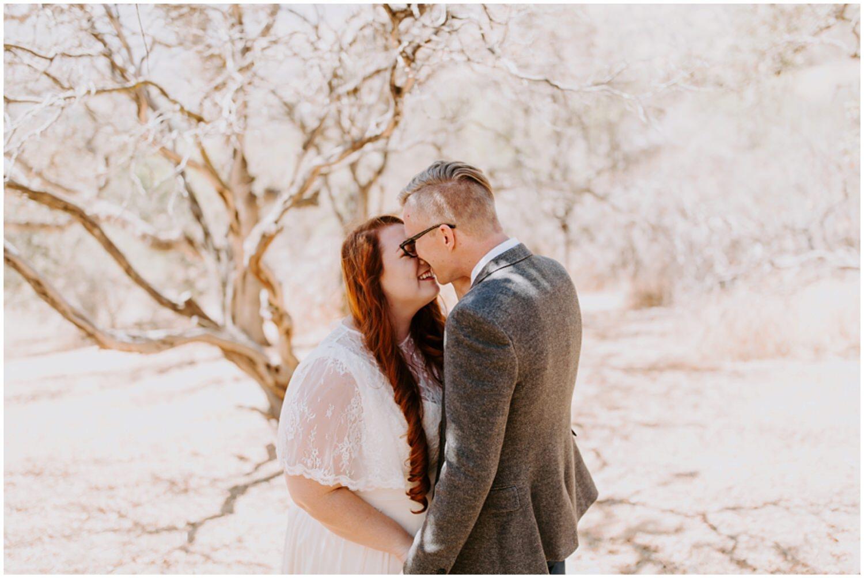 redhead bride california wedding